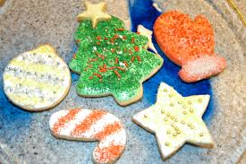 decorated christmas cookies simplest things