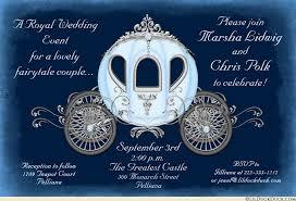 cinderella wedding invitations fairytale cinderella wedding invitations royal coach style