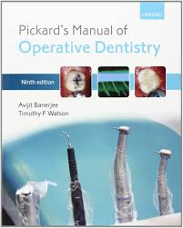 pickard u0027s manual of operative dentistry amazon co uk avijit