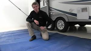 Rv Awning Mats 8 X 20 by Review Of The Camco Reversible Rv Leisure Mat Etrailer Com Youtube