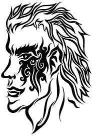 demon head tribal tattoo by soul vessel on deviantart