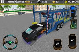 minecraft pickup truck 3d car transport trailer truck android apps on google play