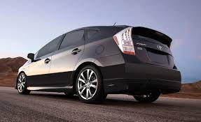 lexus wheels on prius toyota prius plus performance package brings body kit and lower