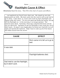 cause and effect worksheets have fun teaching