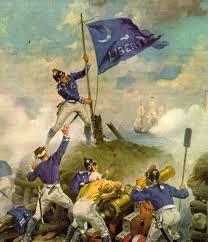 Flag Sc Revolutionary War Era Mount Pleasant Sc Official Website
