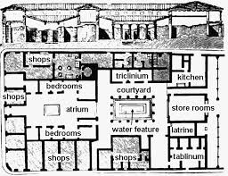 ancient greece floor plan ancient greek courtyard house plan furniture walls pinterest
