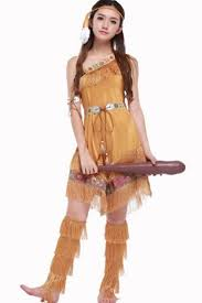girl costumes light brown indian girl costume