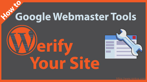 Webmaster How To Verify Wordpress Site In Google Webmaster Tools