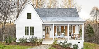 Modern Farmhouse Porch by Inside A Mississippi Farmhouse That Fits A Family Of 6 House