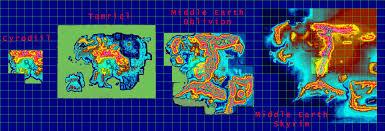 Map Size Comparison Oblivion Map Compared To Skyrim Image Gallery Hcpr