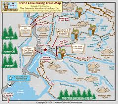 grand map grand lake hiking trails map colorado vacation directory