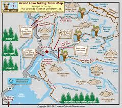 grand map grand lake hiking trails map colorado vacation directory