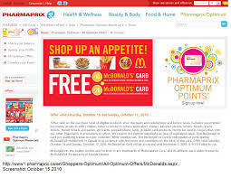 mcdonalds e gift card canadian pharmacy promotes mcdonald s this is not a joke