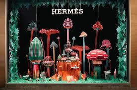 designboom hermes zim zou crafts a paper woodland wonderland for hermès windows in dubai