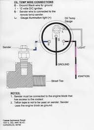 how to wire water temp gauge wiring diagram simonand