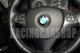 bmw 325i steering wheel bmw e90 rear carbon fiber steering wheel cover 330i 325i ebay