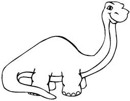 print u0026 download long neck dinosaur coloring pages kids