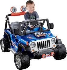 barbie jeep 2000 amazon com power wheels wheels jeep wrangler blue 12v