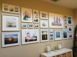 Home Interior Picture Frames Best 25 Picture Frame Walls Ideas On Pinterest Wall Frame