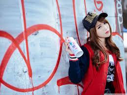 wallpaper girl style graffiti girl 4k hd desktop wallpaper for wide ultra