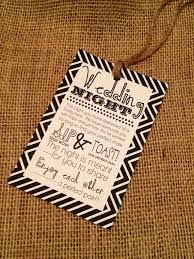 bridal shower wine basket set of 10 bridal shower wine basket gift tags chevron