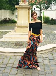 flowy maxi skirts bohemian style maxi skirt by szilvia bd project sewing