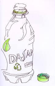 dasani water bottle innk drawing chris carter art 120811 web