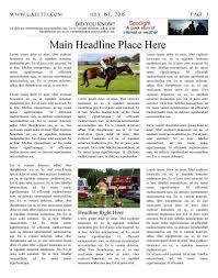free newspaper templates print and digital makemynewspaper com