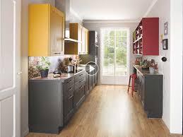 comment amenager sa cuisine comment aménager une cuisine couloir femme actuelle