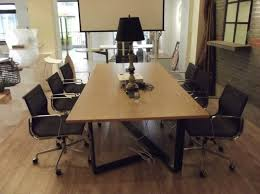 Office Meeting Table Singapore Office Reception Partition Design Office Reception Partition