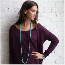 wear long necklace images How to wear a long necklace julieverse png