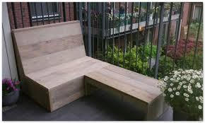 bank balkon balkon loungebank gebruikt steigerhout op eigen houtje meubels