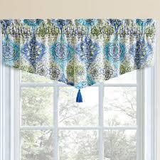Blue Curtain Valance Waverly Valances U0026 Kitchen Curtains You U0027ll Love Wayfair