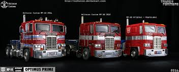 customized truck xt mp 10 optimus prime custom truck in img 03 by xeltecon on
