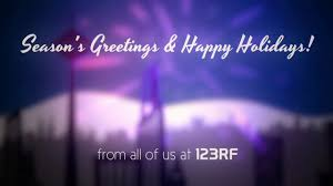 season s greetings happy holidays from 123rf on vimeo