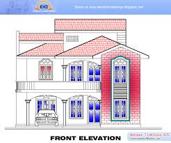 home plan and elevation 2634 sq ft home appliance