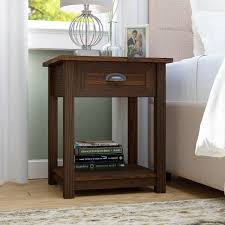 night stand three posts rossford 1 drawer nightstand reviews wayfair