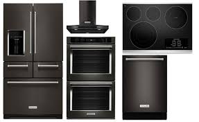 stainless kitchen appliance packages black stainless steel kitchenaid package