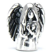 sterling silver bracelet beads charms images Authentic bella fascini heavenly guardian angel bead jpg