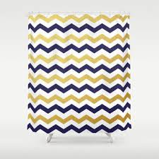 Yellow And Navy Shower Curtain Navy Chevron Curtains For The Boys Room Liam 39 S Room Pics