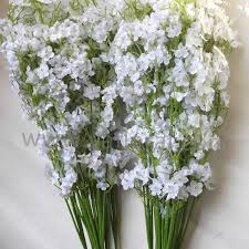 silk baby s breath wedding bouquet silk gypsophlia artificial baby breath flowers