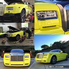 wrapped rolls royce how to choose the best car wrap shop for you ki studios