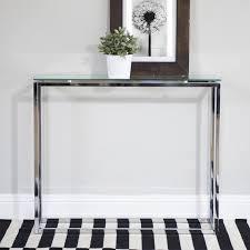 Glass Sofa Table Modern Console Tables Iron Glass Search Veggborð Pinterest