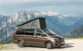 mercedes minivan mercedes benz marco polo edition van euro spec pictures photo