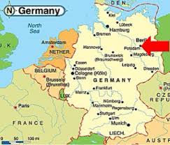 Germany On Map by Potsdam Conference By Yasmeen Rayyan