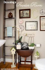 Powder Room Decor Ideas Home Tour Powder Room Wall Collage And Decorating