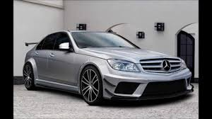 mercedes c class coupe tuning mercedes c class w204 tuning black edition kit