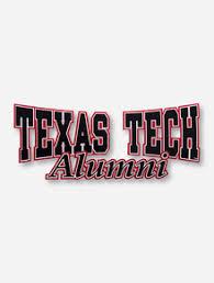 alumni decal tech raiders decals