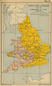Map Of Wales And England by Historical Maps Of The British Isles