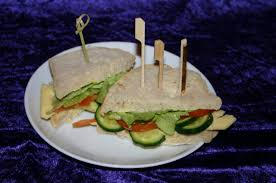 sandwich burger skewers wooden bamboo party cocktail sticks 3